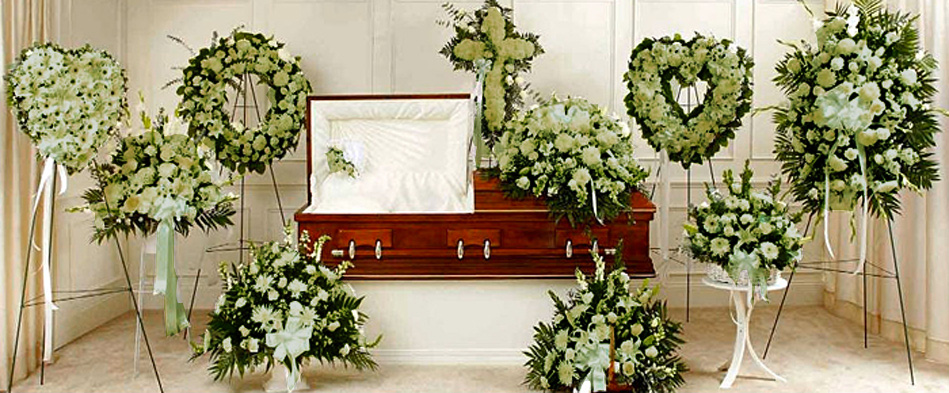 Green Flower Arrangements for Funeral Homes in Toronto GTA