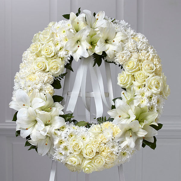 White Wreath Of Remembrance