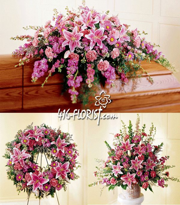 Remembrance Funeral Flower Package