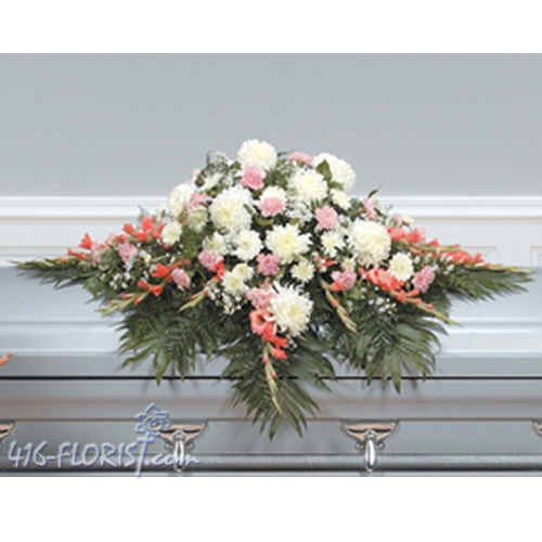 Closed Casket Flower Spray