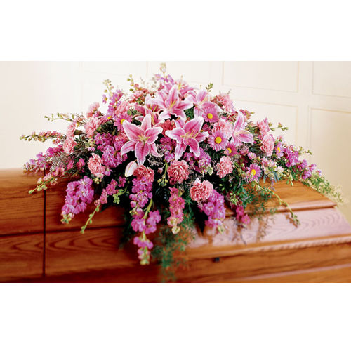Remembrance Funeral Casket Flowers Spray