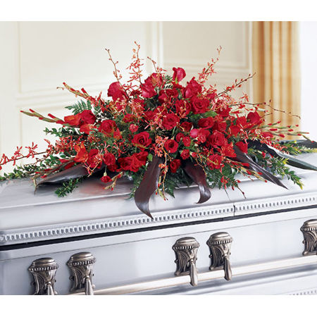 Deeply Adored Casket Flowers