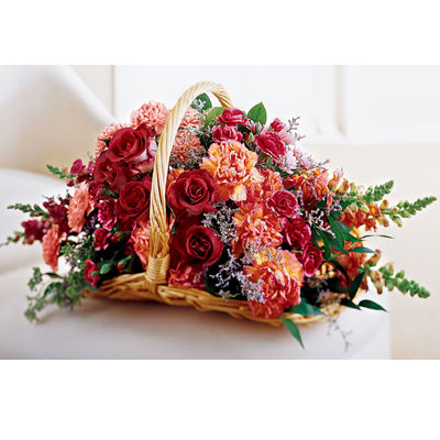 Bereavement Flower Basket