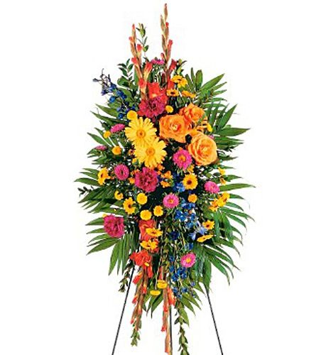 Funeral Flowers Colors And Symbolism Casket Spray Roses Lilies