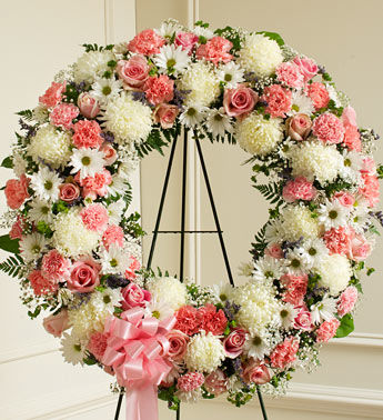 First Class Funeral Wreath