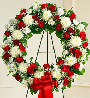The Patriot's Wreath For a Funeral Home