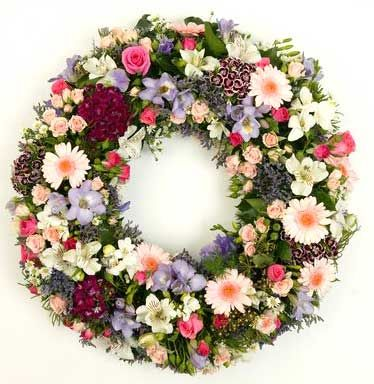 Eternal Peace Flowers For Funeral Wreath