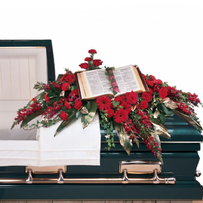 Sincere Tribute Casket Flowers Spray