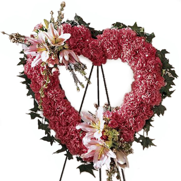 Our Eternal Love Funeral Wreath