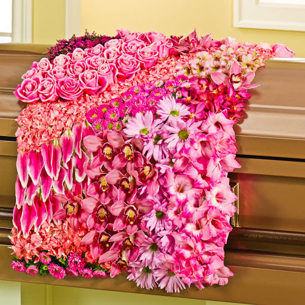 Blanket of Sympathy Flowers