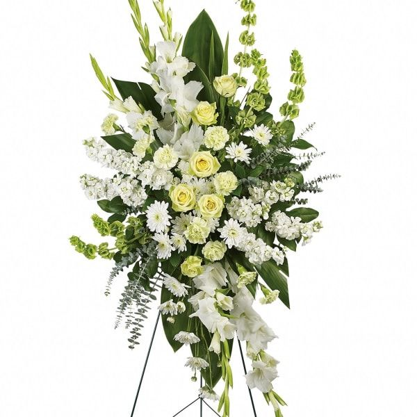 Canadian White Spray Arrangement